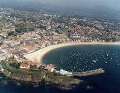 Playa América. Nigrán. (Pontevedra). Galicia. Spain.