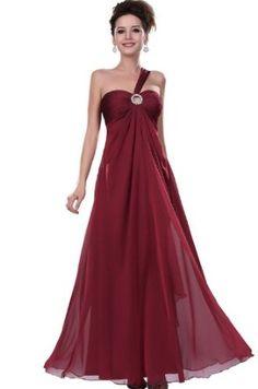 eDressit Red Single Shoulder Party/Gown/Evening Dress (00114517),£89.99 [Click On Image For Details]