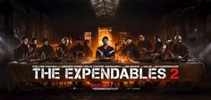 THE EXPENDABLES 2 Last Supper Parody Banner