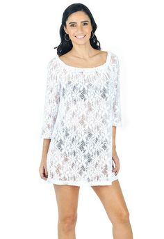 J. Valdi Floral Tunic Cover-Up 20526 Front