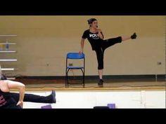 Zumba Sentao - Ice Ice Baby/Pegate Mas - Chi-Town Zumba Crew with Angela Ponzio - YouTube