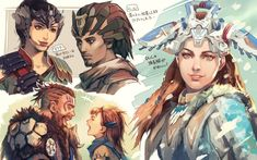 HZD is definitely my personal GOTY Thank you for such an amazing game! Horizon Zero Dawn Aloy, Character Aesthetic, Character Art, Character Design, Anime Couples Manga, Cute Anime Couples, Anime Girls, Star Citizen, Grafiti