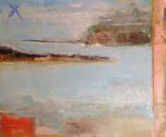 "Saatchi Art Artist Hennie van de Lande; Painting, ""Blue Paradise "" #art"