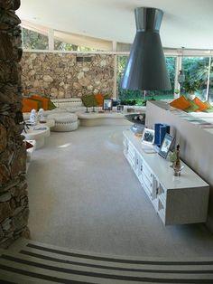 Tour: House of Tomorrow/Elvis Honeymoon Hideaway, Interior, Palm Springs