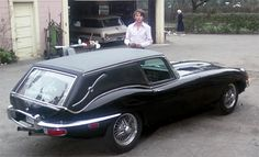 This Jaguar E- Type is from the film Harold and Maude (1971)