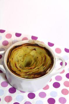Aardappel rozetten - Serveer je aardappeltjes eens als een roosje! Succes gegarandeerd! :D