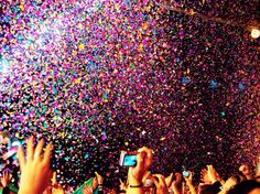 Let the rain become glitter and let the winds carry confetti.for tonight, we Fest! Young Wild Free, Wild And Free, Make It Rain, Reasons To Smile, Favim, All That Glitters, New Years Eve, Winter, Cool Pictures