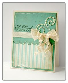 card by @SylviaBlum  with step-by-step instructions on how the card was created  #GlitzDesign #WhimsyStamps #vintage #cardmaking #handmade #stamping
