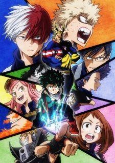 The second season of Boku no Hero Academia.
