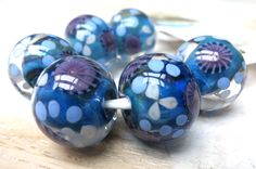 Murrini beads