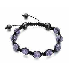 Fancy Crystal Ab Clay Disco Ball Shamballa Bracelets for Gift