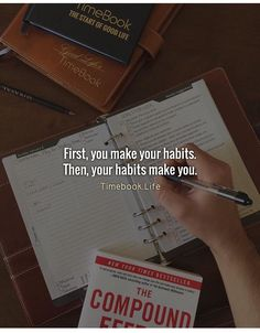 First, you make your habits. Then, your habits make you. Study Hard Quotes, Study Motivation Quotes, Student Motivation, Self Motivation, Study Inspiration, Motivation Inspiration, Inspirational Quotes For Students, Empowerment Quotes, School Quotes