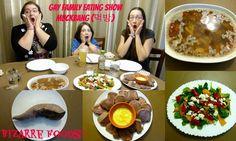 Gay Family Eating Show - MUCKBANG (먹방)