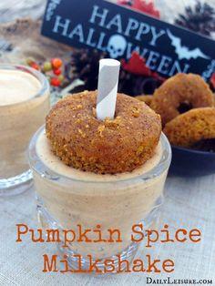 Pumpkin Spice Milksh