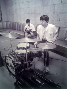 Ringo Starr & Paul McCartney