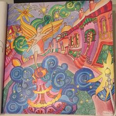 Amazon The Magical City A Colouring Book Books For