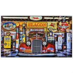 Beacon Auto Garage Hi Gloss Wall Decor.