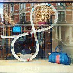 """MOYNAT, London, UK, """"Move over boys let the girls show you how to race"""", pinned by Ton van der Veer"""