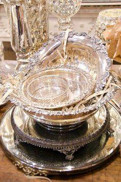 Silver & Crystal Elegance