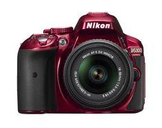 Nikon D5300 24.2 MP CMOS Digital SLR Camera with 18-55mm f/3.5-5.6G ED VR II AF-S DX NIKKOR Zoom Lens (Red) Nikon http://smile.amazon.com/dp/B00I1CPACM/ref=cm_sw_r_pi_dp_1TUjub00T37E5