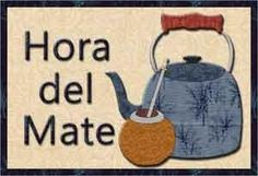 """Hora del Mate Mug Rug 