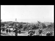 'Romanian refugees flee before advancing German forces during World War I  https://www.youtube.com/watch?v=IiaGKUxjLc0
