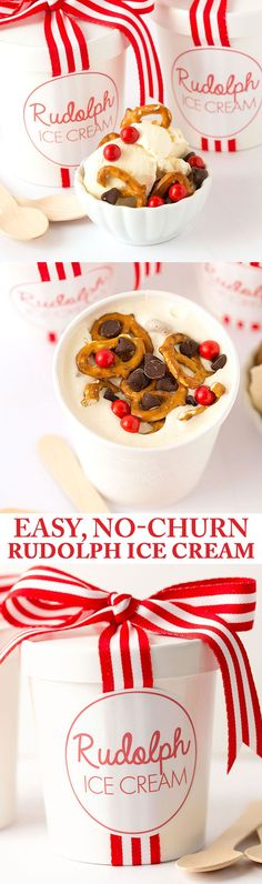 No-Churn Rudolph Ice