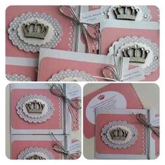 Convite Scrap Festa Infantil Tema Princesa - R$ 11,00