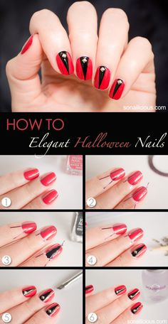 Nail Art Tutorial. click for more.