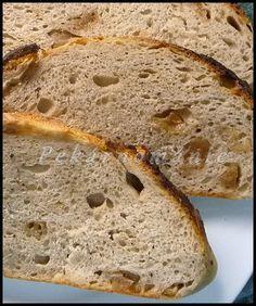 Klasický kváskový chléb se škvarkama (z remosky nebo trouby) Russian Recipes, Bread, Dishes, Baking, Food, Crocheting, Electric, Polish, Creative