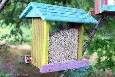 Beach House Bird Feeder