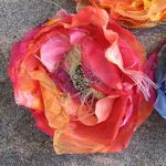 Multiple links for diy fabric flowers for wedding bouquet