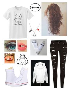 """""""Untitled #402"""" by haileylong04 on Polyvore featuring River Island, Converse, Charlotte Tilbury and Disney"""