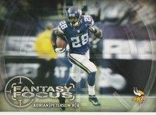 2014 Topps Fantasy Focus #FF-AP Adrian Peterson, Minnesota Vikings
