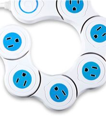 Pivot Power - A Creative Outlet at Quirky. [Power Strip] Get more Power Solutions at http://www.limewit.com