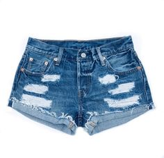 ae68109d28 ALL SIZES Women Levi High Waisted Denim Shorts - distressed, small medium  large extra large