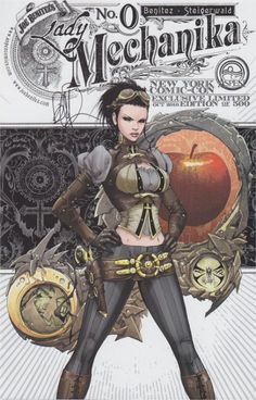 Joe Benitez - Lady Mechanika 0 Comic Art