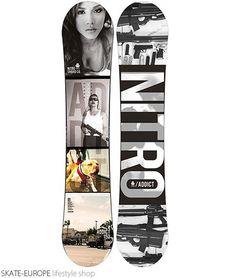 Snowboard NITRO - ADDICT 152 http://en.skate-europe.com/details/111482-snowboard-nitro-addict-152.html