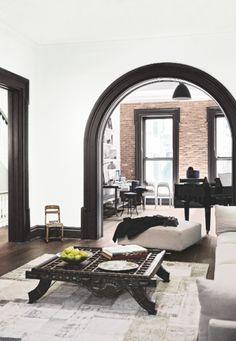 from Living etc may 2015 Interior Design New York, Luxury Interior, Interior And Exterior, American Interior, Brooklyn House, Living Etc, Living Room, Living Comedor, Contemporary Home Decor