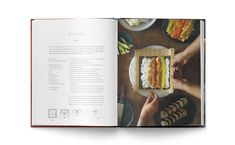 Kimbap recipe from my cookbook Just add rice – stories and recipes by a Taiwanese South African. Designer – Wilna Combrinck  #justaddrice #cookbook #southafrican #taiwanese