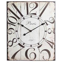 Whimsical Paris Wall Clock.