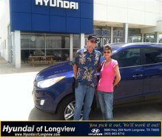 https://flic.kr/p/u5fYA4 | #HappyAnniversary to Debbie Williams on your 2013 #Hyundai #Tucson from Everyone at Hyundai of Longview!