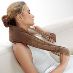 3 in 1 Heated Body Wrap   This looks great and should relieve tension and relax Moms #BrookstoneMoms.   :)
