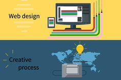 Web Design and Creative Process by robuart on Creative Market