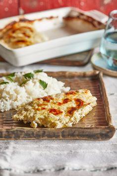 Kapros tejfölös sajtos csirke rizzsel | Street Kitchen
