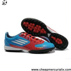 Cheap adidas F10 TRX TF Red Blue Black Soccer Boots On Sale