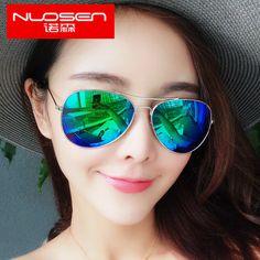 Couple female retro sunglasses 2016 color film reflective Korean star models sunglasses men drove round glasses -tmall.com Lynx