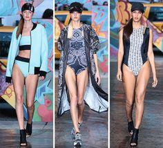 DKNY Spring/Summer 2014 RTW - New York Fashion Week  #NYFW #MBFW #fashionweek
