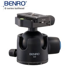 315.90$  Watch now - http://ali430.worldwells.pw/go.php?t=1858385038 - BENRO G Series Low-Porfile BallHead Professional Ball heads G3 Aluminum Ball Head For Tripod Pu70 Quick Release Free Shipping 315.90$
