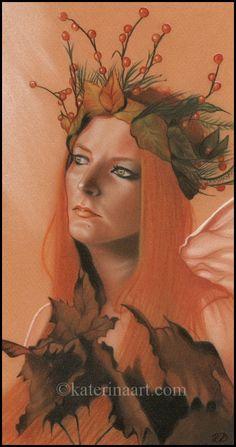 Autumn Queen by Katerina-Art.deviantart.com on @deviantART
